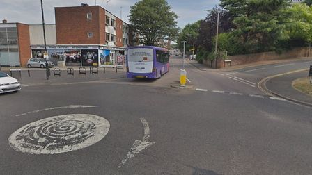 Roadworks will make the London Road junction with Alma Road safer for pedestrians. Picture: Google S