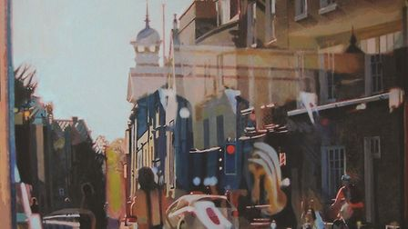 Andy Dakin is exhibiting at the Art & Soul Cafe in St Neots