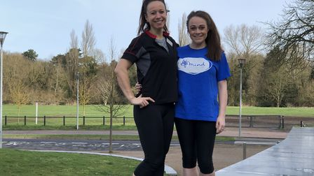 Left to right: Jo Hancock and Amy Heap. Picture: Westminster Lodge Leisure Centre