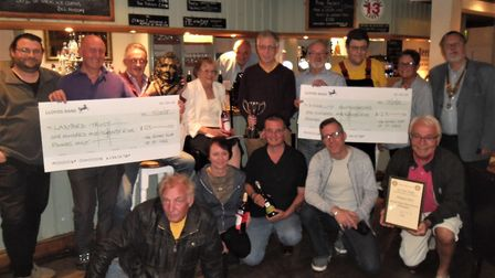 The Samuel Pepys in Huntingdon were last year's quiz winners. Picture: CONTRIBUTED