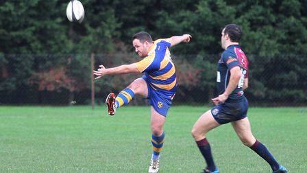 St Albans and Barnet Elizabethans used their league and cup game to support former player Harry Trud