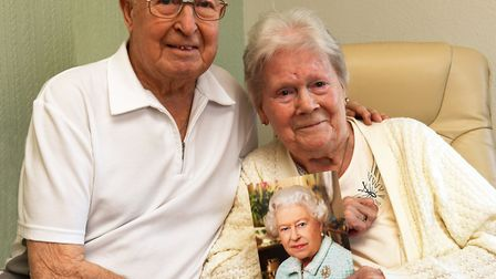 George and Mary Smoker were sent a card from the Queen for their 60th, and still have it five years