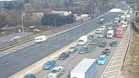 M25 where there is a serious incident near Watford.