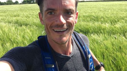 Raoul Monks will be completing seven marathons in seven days. Picture: EACH