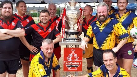 St Albans Centurions masters are on the lookout for players ahead of a huge day of rugby league in L