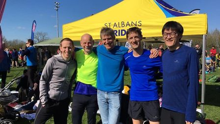 St Albans Striders had two squads at the South of England Relay Championship.