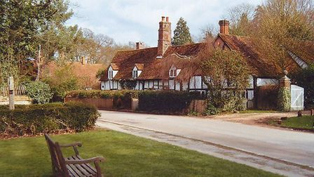 One of Ayot St Lawrence's chocolate box cottages. Picture: Archant