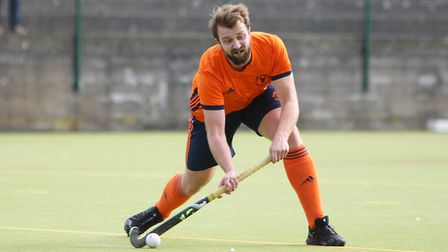 Harpenden HC V East London 11 - Michael Crossley in action for East London 11.Picture: Karyn Hadd