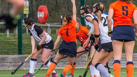 St Albans Hockey Club's ladies have confirmed their place in the second tier of England hockey's nat