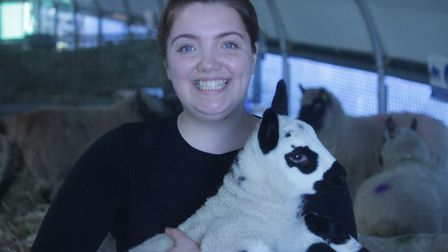 The Lambing Weekend at Oaklands College in St Albans. Picture: Oaklands College photography students