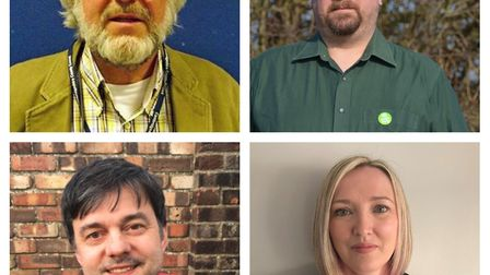 The candidates for the Eaton Ford By-election on March 21