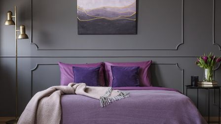 Lilac should be central to Cancer's colour scheme, as it evokes a sense of creativity and peace. Pic