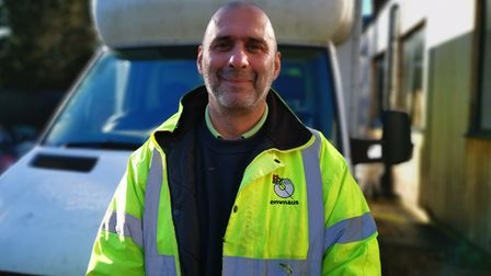 Andy McGuinn from Emmaus Hertfordshire. Picture: Emmaus Hertfordshire