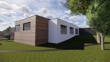 A 3D rendering of the new art room proposed for Samuel Ryder Academy in St Albans. Picture: Barker A