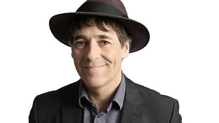 """Mark Steel said the audience in Saffron Walden was """"very sweet"""""""