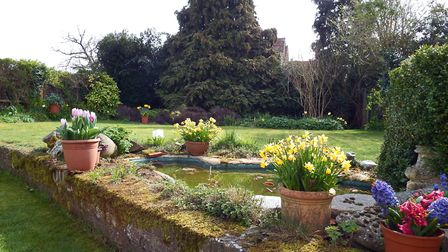Landscaped private gardens create a wonderful backdrop to the property. Picture: Putterills
