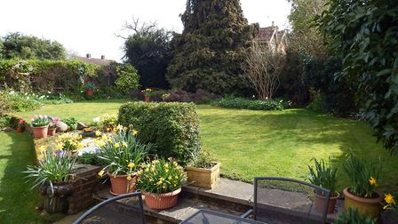 The garden measures approximately 70ft x 60ft. Picture: Putterills
