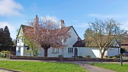 The property is situated on a generous corner plot close to the Old Town High Street. Picture: Putte