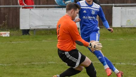 Jack Chandler is one of several Godmanchester Rovers players struggling with injury. Picture: J BIGG