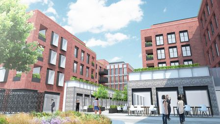 Morgan Sindall Construction has been chosen for a development in St Albans city centre. Picture: Inf