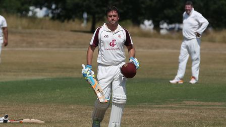 Nick Lamb is Harpenden's new first-team captain. Picture: DANNY LOO