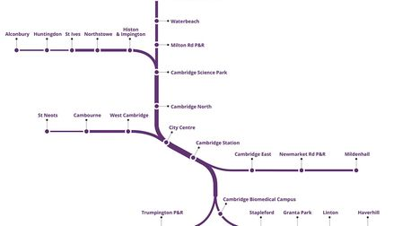 The route for the CAM