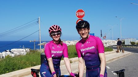 Verulam Reallymoving duo Rachel and Steve Dunn raced to good result at the Tour of Malta.