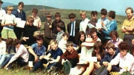 The Francis Bacon School class on a geography school trip. Picture: Lyn Huddleston