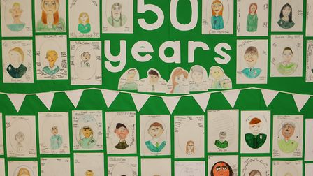 Greneway at 50 - Greneway School celebrates its 50th year with former teachers and pupils.Picture