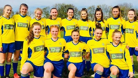St Albans City Youth U16 girls lost on penalties to Watford in the Herts County Cup final.