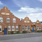 The converted Grade II listed Beaumont Works factory building offering new homes to first-time buyer