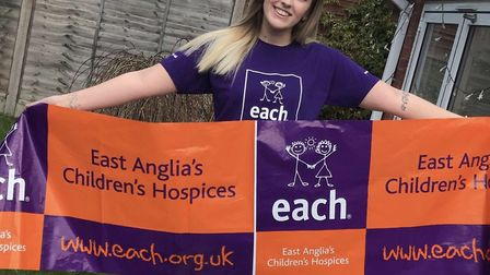 Molly Wesley will be taking part in the charity sky-dive