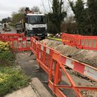 Royston residents in Garden Walk have said their road has become unusuable due to building work rela