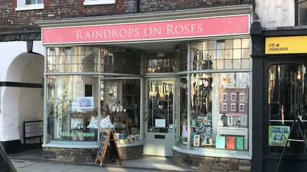 Raindrops on Roses, St Albans, give all their profits to charity and all staff volunteer their time.