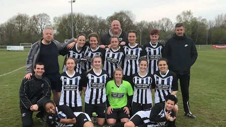Colney Heath picked up a 2-0 win against Brentwood Town in the Eastern Women's Premier Division. Pic
