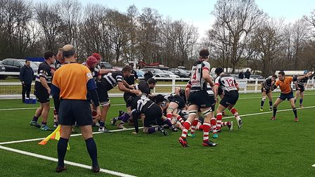 Harpenden won promotion to London North One with a comprehensive 60-6 win over Romford & Gidea Park.