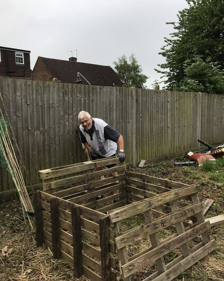 Hands-on support from the local gardening society was a real help to Tanners Wood school. Picture: T
