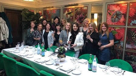 St Albans' most influential women at The Ivy St Albans Brasserie. Picture: Loudbird PR