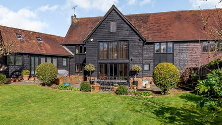 One of the properties available to view at the open house day is Ayres Barn, Harpenden, which has a