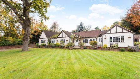 Wendover Drive, Welwyn, will also be available to view. It has a guide price of 950,000. Picture: Sa
