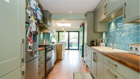 There are views to the garden from the front door. Picture: William H Brown