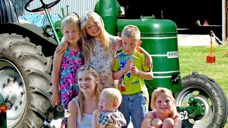 Family fun at the Heritage Park at Pitstone Green Museum.