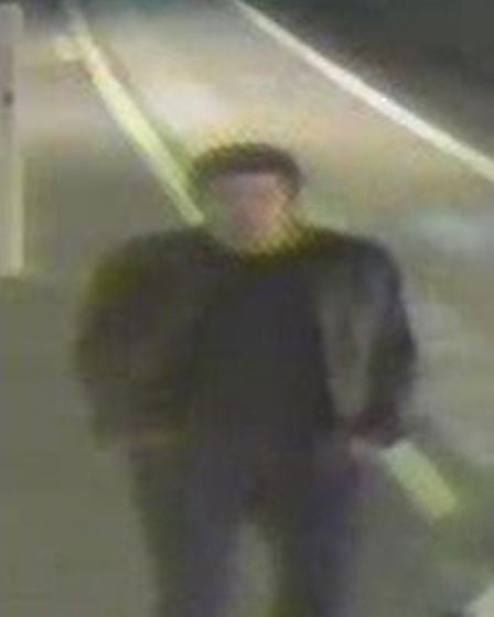 Do you recognise this man? Police would like to speak to him after a sexual assault in St Albans. Pi