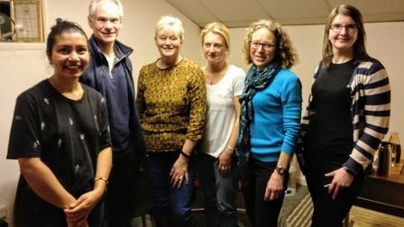 St Albans MP Anne Main met with representatives from St Albans Friends of the Earth and Plastic Free