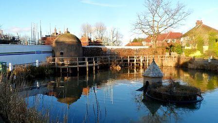 Shenley pond and lock-up. Picture: Archant