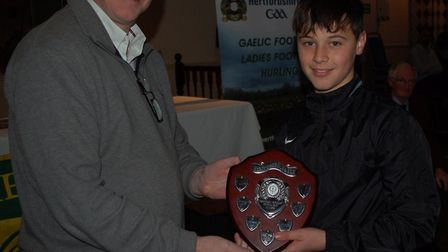 Cian Jelly of St Colmcilles GAA.
