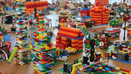The Big LEGO Build at St Albans Museum + Gallery created a vision of what the city will look like in