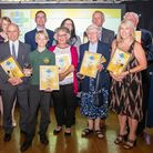 Winners from last year's Comet Community Awards, which will return to Hotel Cromwell in 2019, too. P