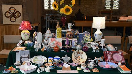 Saints Crafters celebrated their 10th birthday at the St Ives Corn Exchange. Picture: ARCHANT