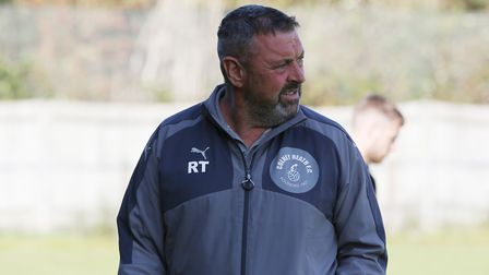 Colney Heath manager Ryan Thompson. Picture: DANNY LOO